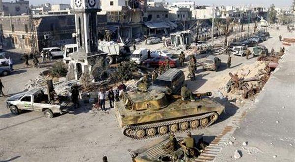 Pasukan Suriah di Pusat Kota Qusair (Foto: Daily Star)