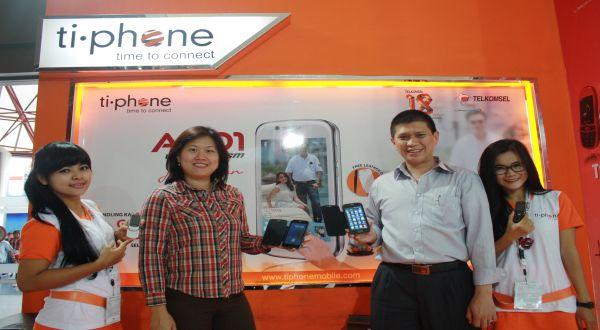 Tiphone Klaim Jual 500 Unit per Hari di PRJ 2013