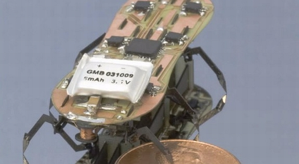 Robot Kecil Ini Bertingkah Layaknya Serangga