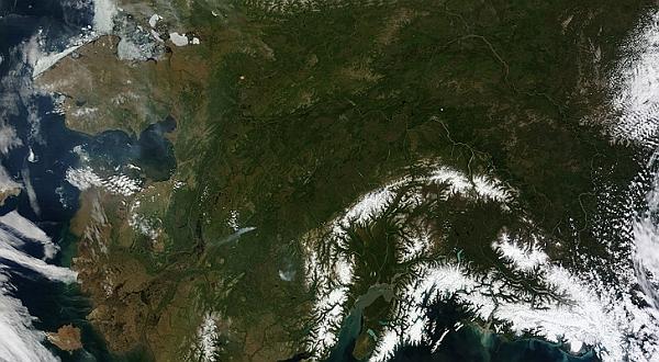 Inikah Wujud Alaska dengan Es yang Hampir Hilang