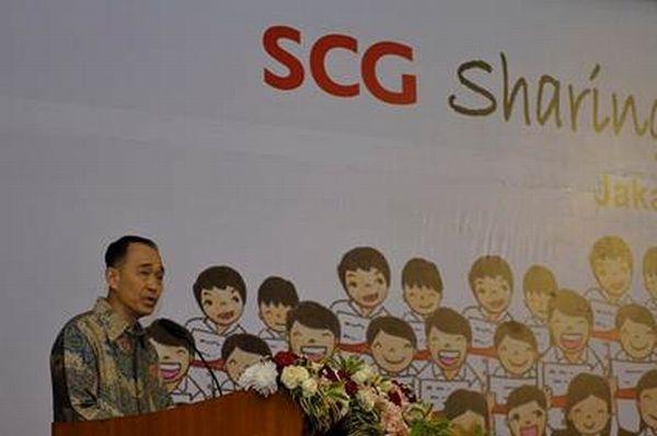 Presiden dan CEO SCG Kan Trakulhoon. (Dokumentasi: SGC)