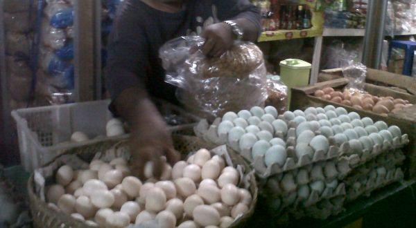 Telur angsa (Foto: Prabowo/okezone)