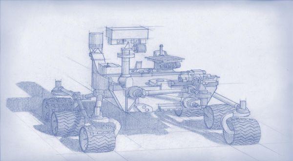 NASA Siapkan Robot Cari Kehidupan Masa Lalu di Mars