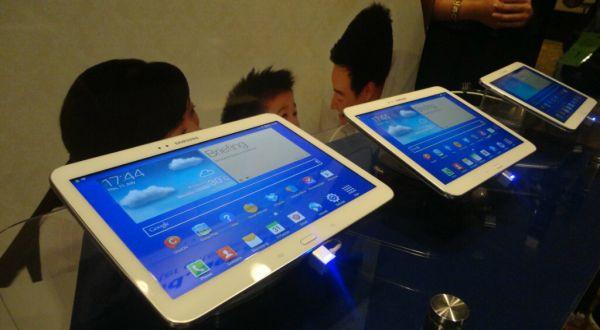 Trio Galaxy Tab 3 Mendarat di Indonesia