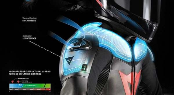 F: BMW Motorrad & Dainese (iamabikers)