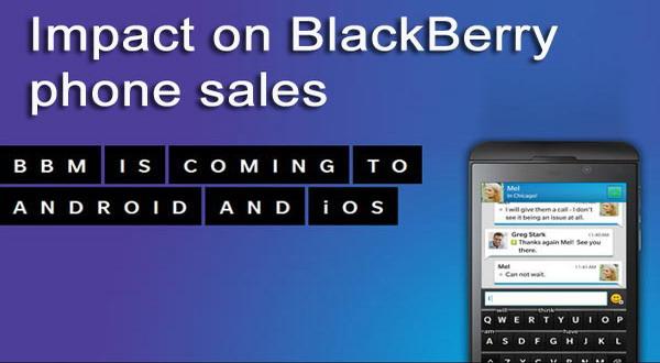 BBM di Android, Penjualan BlackBerry Bakal Lesu?