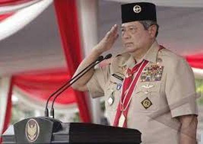 Presiden SBY saat memperingati Hari Pramuka. (Foto: Setkab)