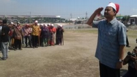 Gus Ipul Jadi Irup Upacara HUT RI & Ikut Balap Karung