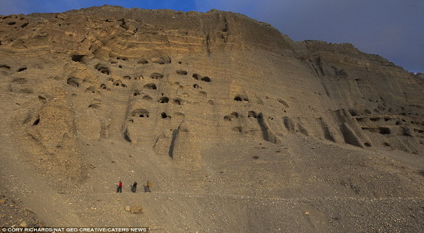 Ditemukan Bukti Kerajaan Kuno 10 Ribu Gua