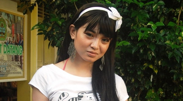 Ari Anjarwati alias Dewi Angin Angin (Foto: Markus Y/Sindo Radio)