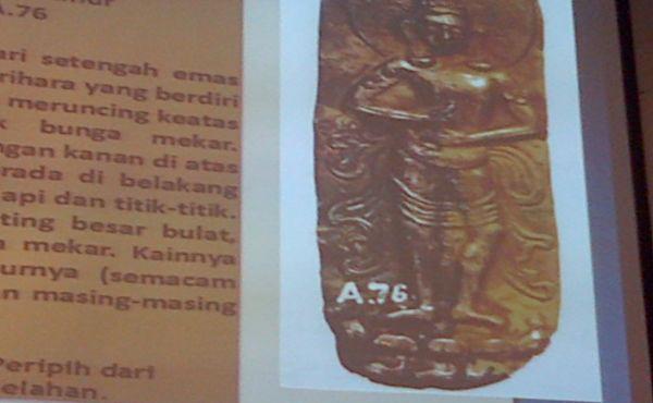 Salah satu artefak yang hilang (Foto: Fardi/Okezone)