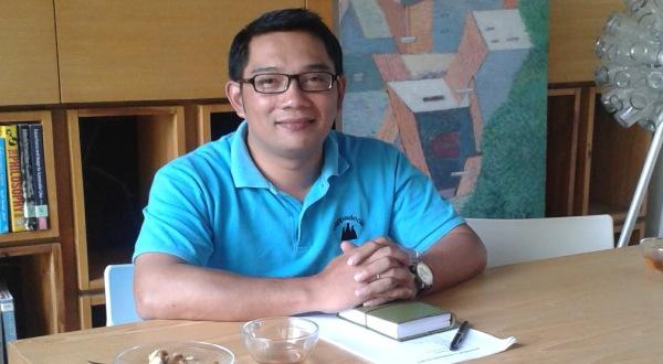 Ridwan Kamil (Foto: Tri Ispranoto/Okezone)