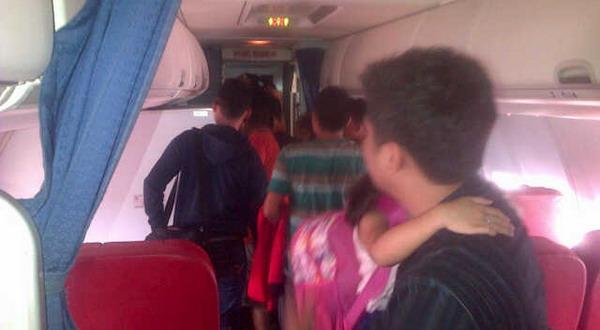 Foto Dalam Pesawat Lion Air Dari Pesawat Lion Air di