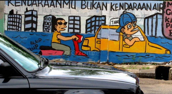 Gara gara menulis jogja ora didol seniman mural for Mural yogyakarta