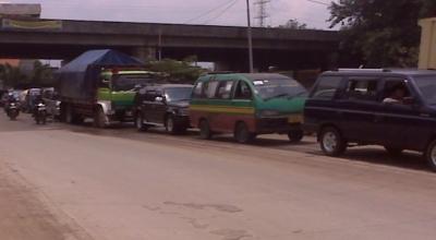 Ilustrasi kemacetan di Bandung (Foto: Okezone)