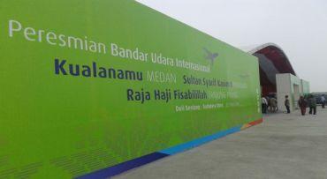 Bandara Kualanamu Sudah Dinanti Sejak 1983