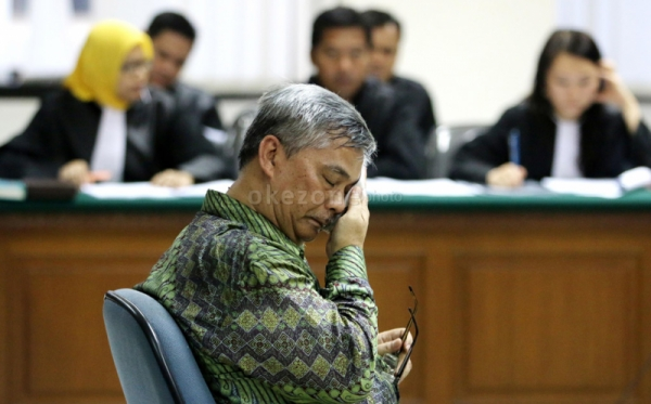 Mantan Ketua Mahkamah Konstitusi Akil Mochtar (Foto: Okezone)