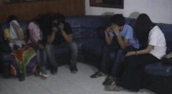 10 Pasangan Tertangkap Mesum, 2 di Antaranya Pelajar
