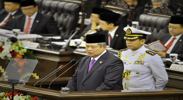 Presiden Susilo Bambang Yudhoyono (foto:Antara)