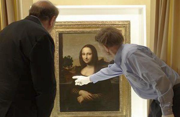 Hasil gambar untuk leonardo da vinci melukis