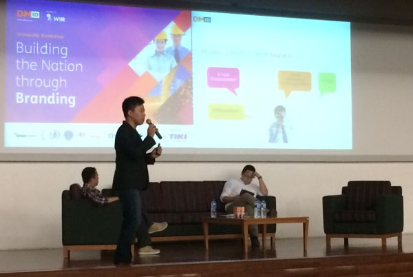Kreativitas anak muda mampu memacu branding Indonesia di tingkat dunia. (Foto: Margaret P/Okezone)