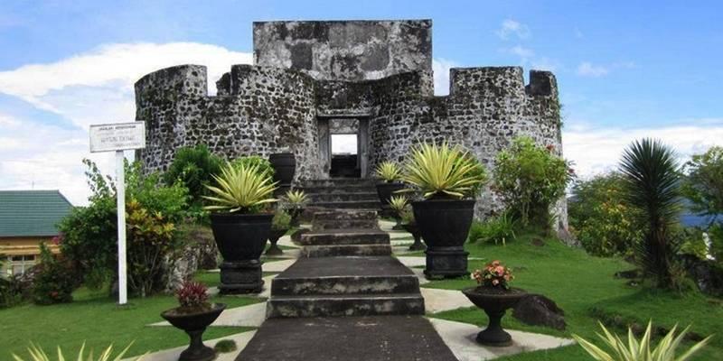 Benteng Paling Tua di Ternate : Okezone Lifestyle