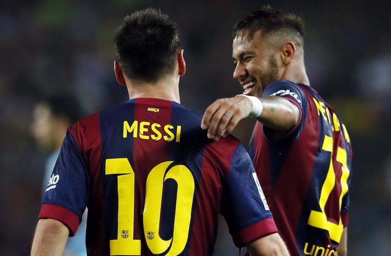 """""""Messi-Neymar = Bale-Ronaldo"""" : Okezone Bola  Neymar"""