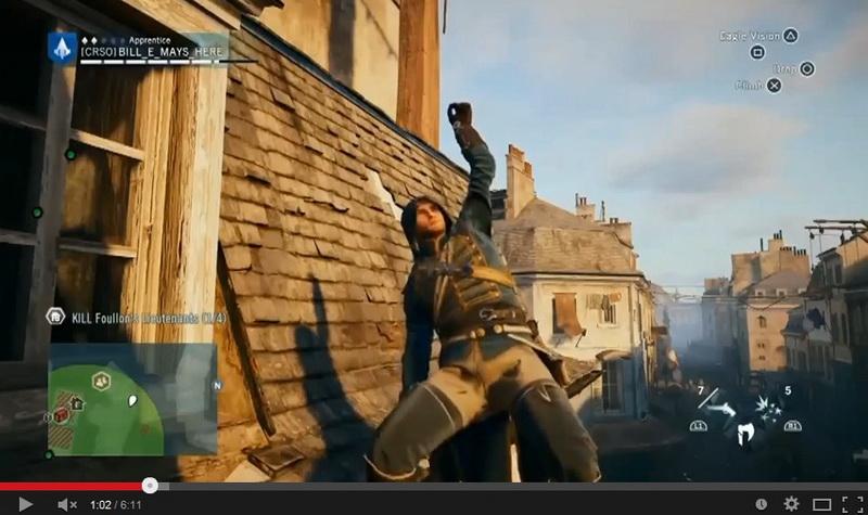 Game Assassin S Creed Unity Diwarnai Glitch Okezone Techno