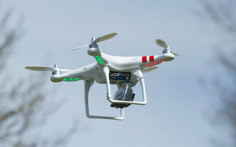 Kamera GoPro Bakal Terbang dengan Drone : Okezone Techno on