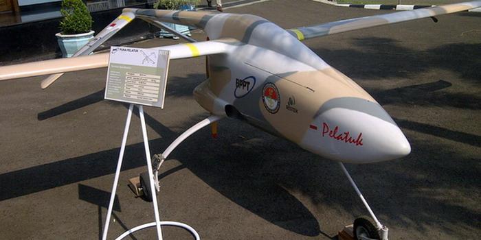 BPPT Banggakan Penemuan Pesawat Drone Puna Wulung