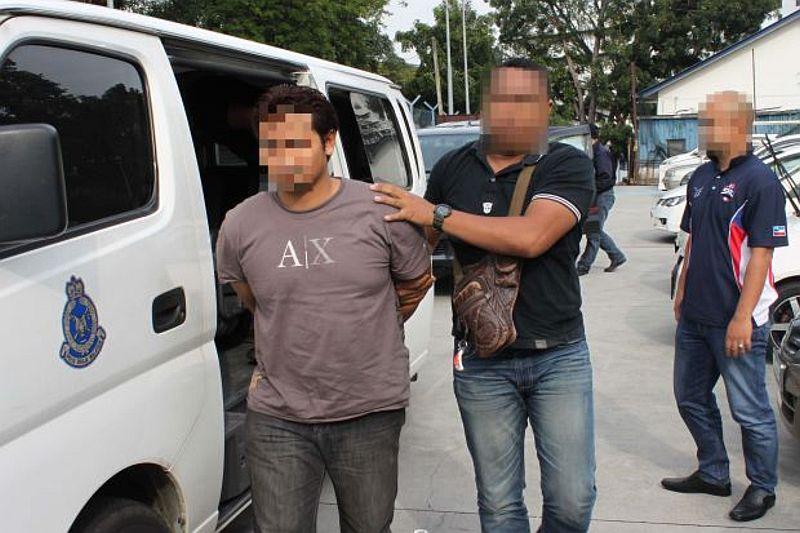 12 WNI yang Ditangkap Polisi Malaysia Warga Jatim  (The Star)