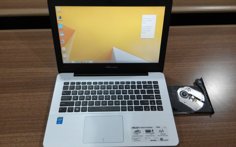 Asus X455l Notebook Tipis Dengan Fitur Ram Upgradeable Okezone Techno