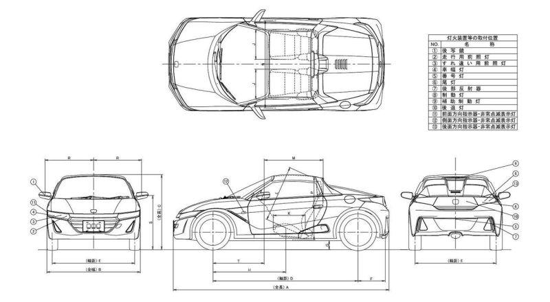 Spesifikasi Honda S660 Beredar Di Dunia Maya Okezone Otomotif
