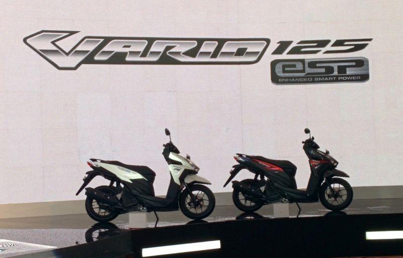 New Honda Vario Techno 125 (Foto: Septian/Okezone)
