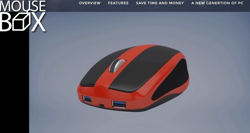 PC Unik Ini Seukuran Mouse Komputer