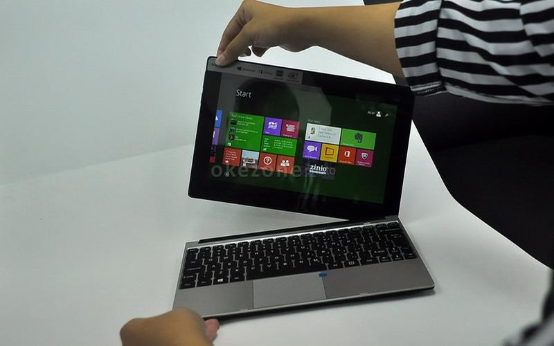 Acer One 10 Notebook Yang Bisa Dijadikan Tablet