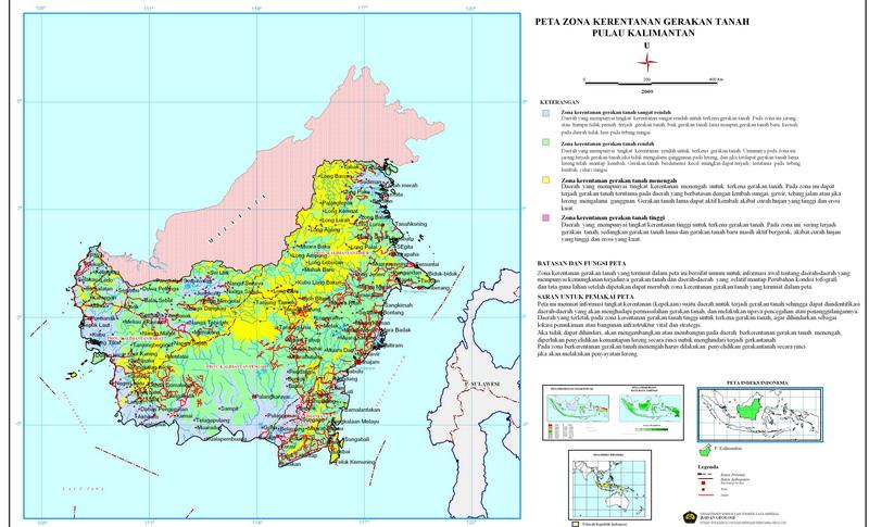 Lokasi Rentan Gerakan Tanah Kalimantan Bali Nusa Tenggara 7 Https
