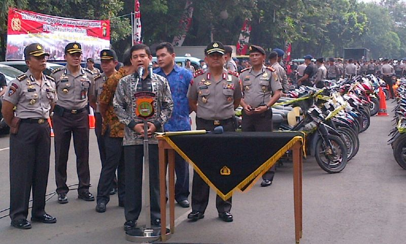 Polda Metro Jaya Gelar Ekspose Ratusan Bandit Jalanan