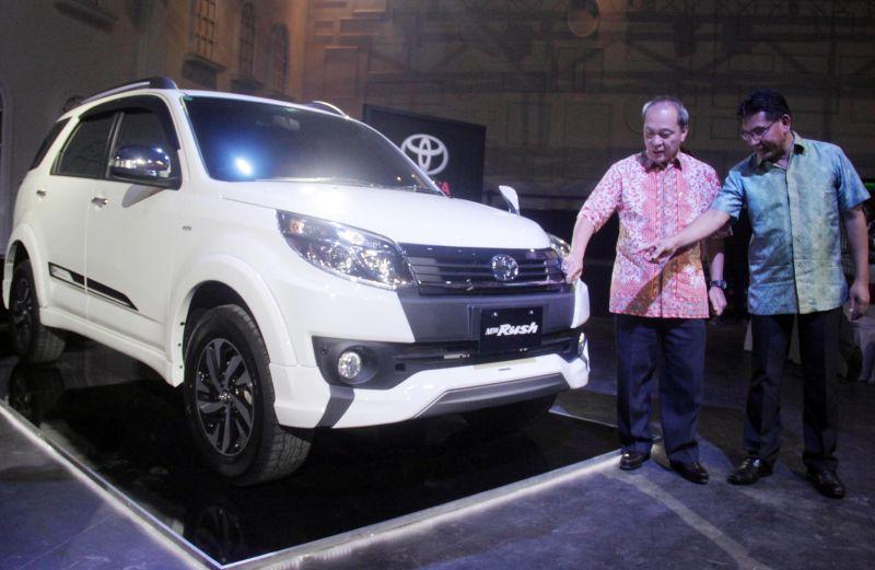 Tampang Baru New Toyota Rush