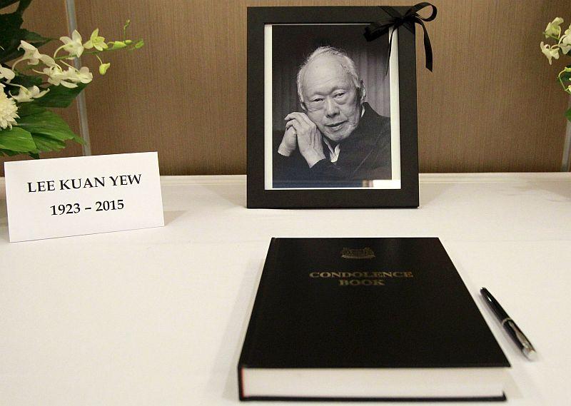 Jokowi-Abbott Bertemu di Pemakaman Lee Kuan Yew