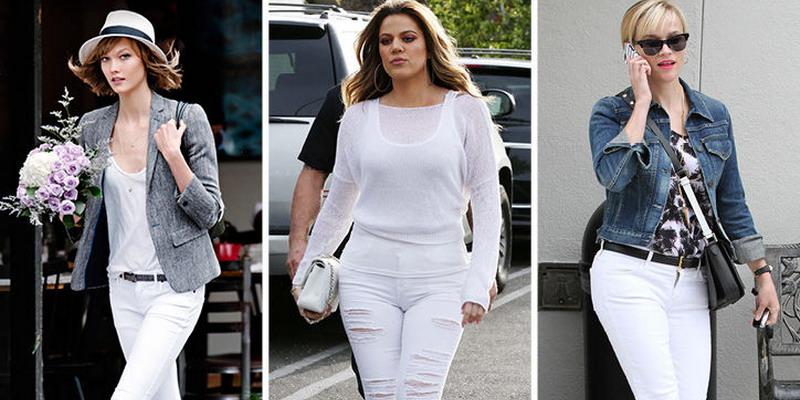 Padu Padan Tepat Celana Jeans Putih Okezone Lifestyle