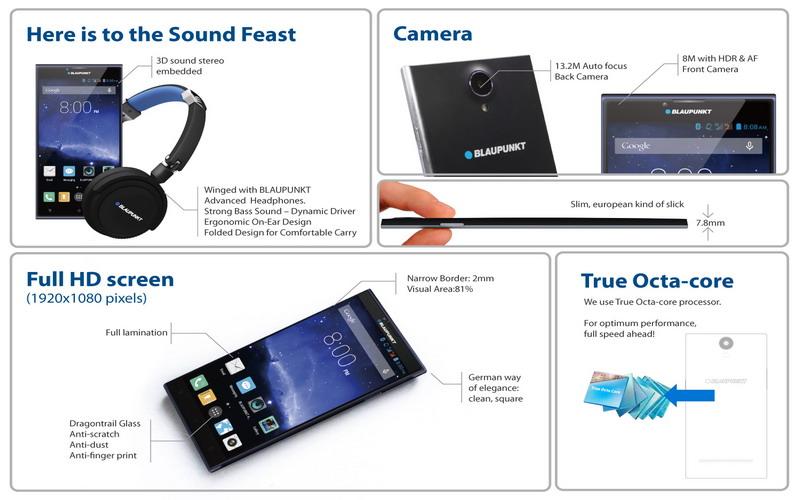 spesifikasi blaupunkt sonido X1+