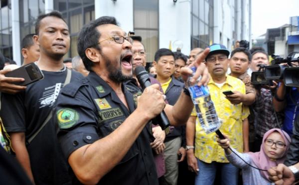 Yorrys Harus Gentle Jawab Ultimatum Tommy Soeharto