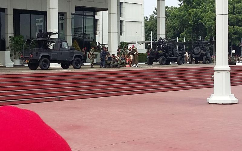 Insiden Mengejutkan di Depan Jokowi, TNI Dinilai Lalai