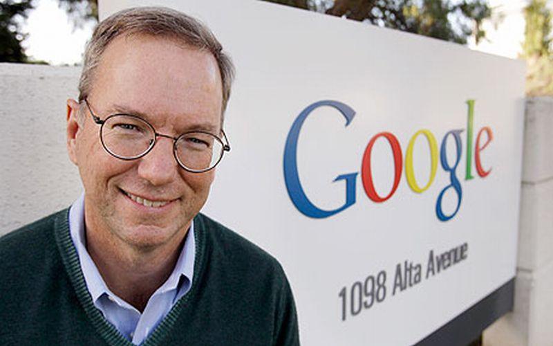 Erick Schmidt Digaji Google Rp1 Triliun