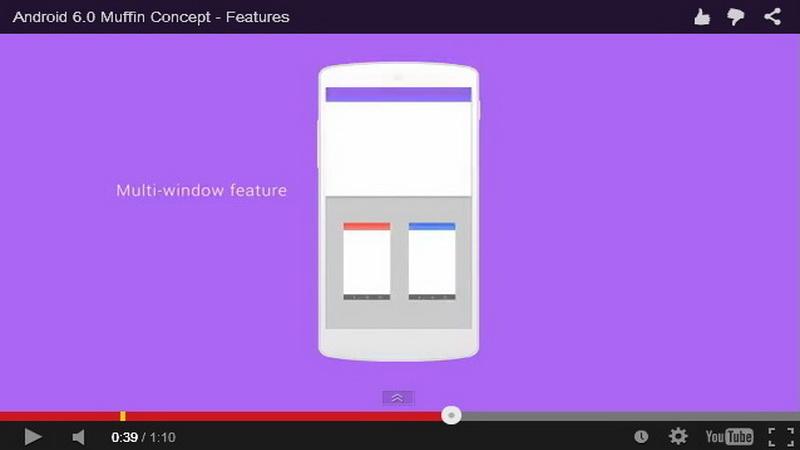Video Konsep Android 6.0 Muffin Beredar di YouTube