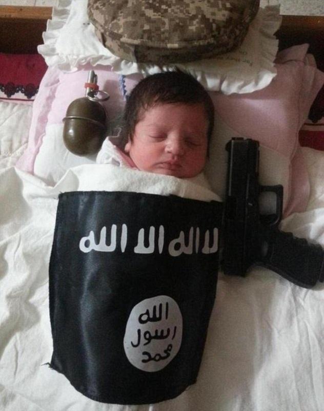ISIS Gunakan Bayi sebagai Propaganda
