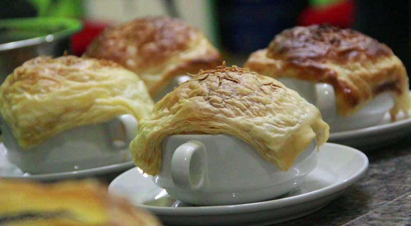 Penyebab Puff Pastry Zuppa Soup Tidak Mengembang : Okezone Lifestyle