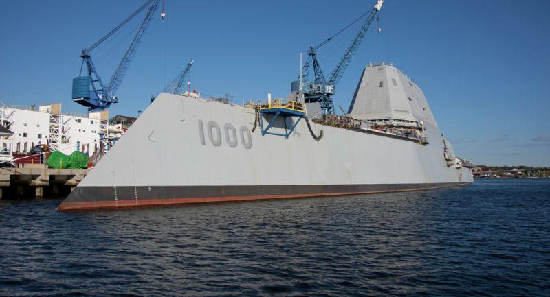 USS Zumwalt, kapal perang Angkatan Laut AS (Foto: Sputnik)