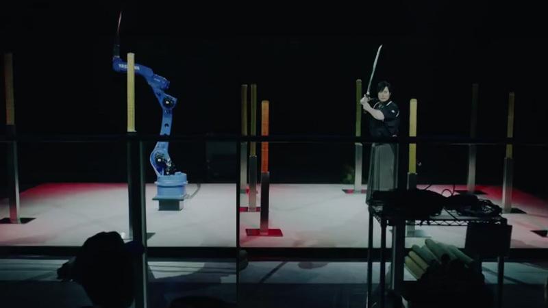 Robot Ini Mampu Tebas Objek bak Seorang Samurai